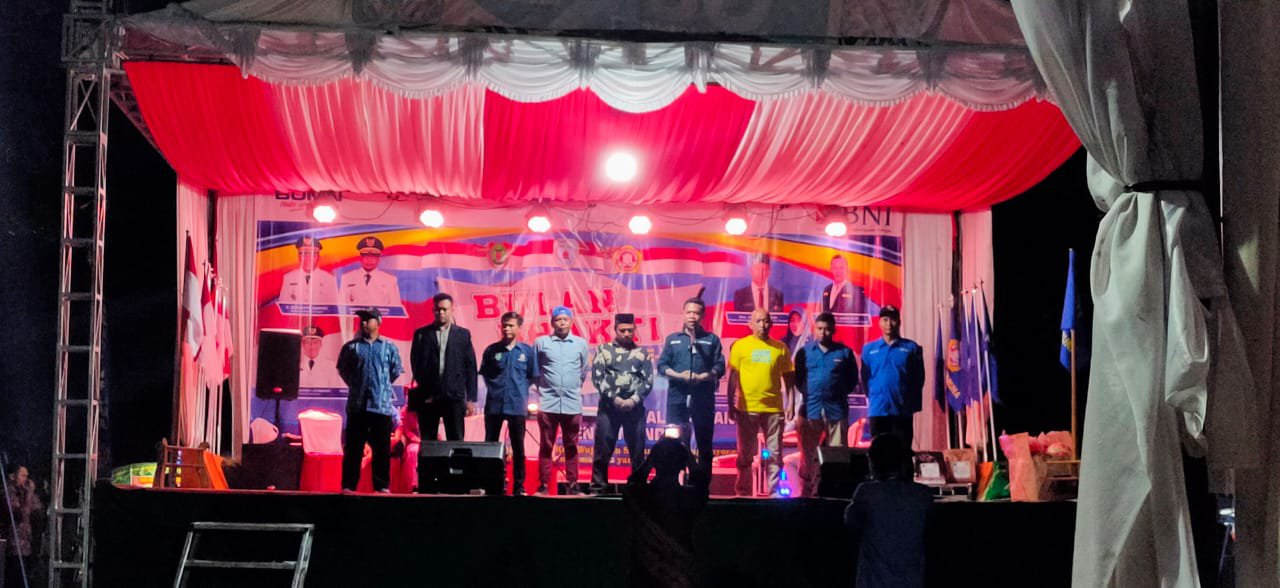 Semua Ketua Karang Taruna se-Kalteng saat menyampaikan kesannya terhadap BBKT di Lamandau